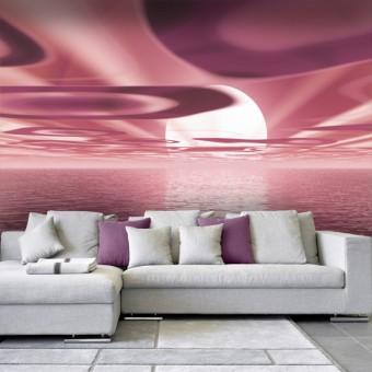 fototapety różowe krajobrazy