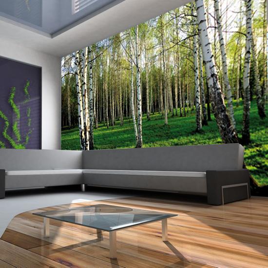 las brzozowy tapeta