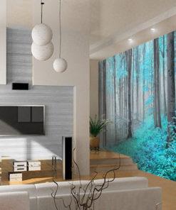 las na ścianę