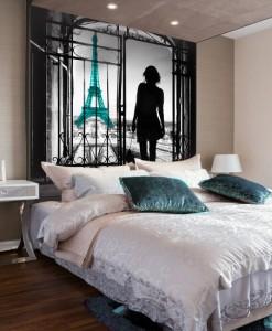 Foto-tapeta spacerkiem po Paryżu