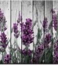 Fototapeta rustykalna z lawendą