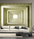 Fototapeta oliwkowy korytarz