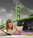 Fototapeta z mostem Golden Gate