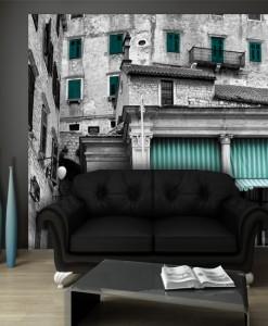 Foto-tapeta markizy i okiennice