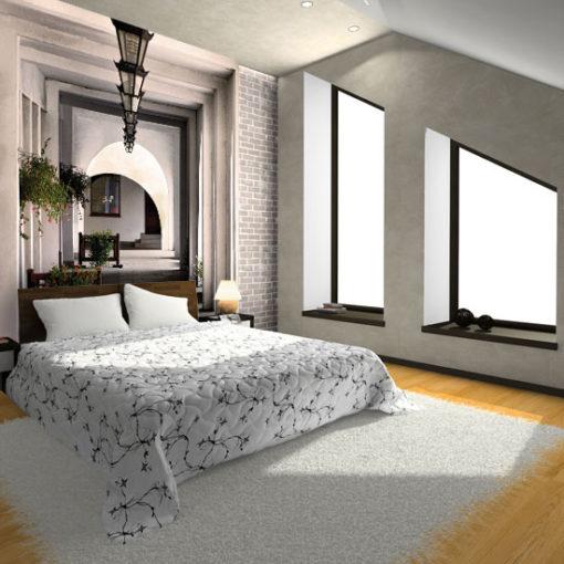 Fototapeta do sypialni na poddaszu