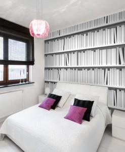 Tapeta domowa biblioteka