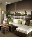 Foto-tapeta z zielonym mostem