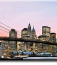 Tapeta panorama Manhattanu