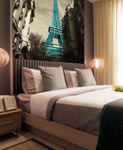 Fototapeta panorama Paryż
