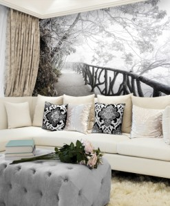 Fototapeta zimowe widoki