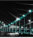 Foto-tapeta z Mostem Grunwaldzkim