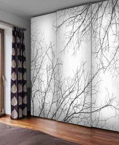Gałęzie drzew na tapecie