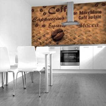 fototapeta do kawiarni