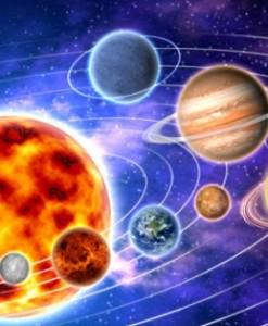 Fototapety kosmos i planety