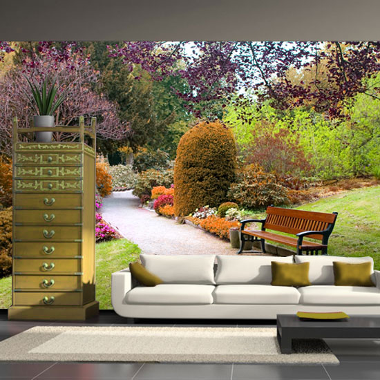 fototaoeta kolorowy ogród