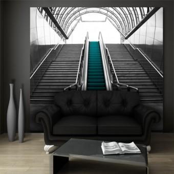 fototapeta do przedpokoju schody