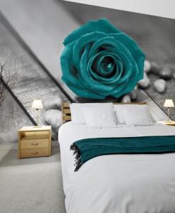 fototapeta z różą
