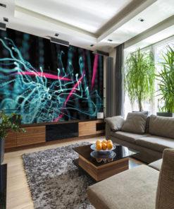 abstrakcja na dekoracji