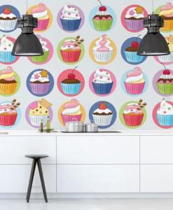 fototapety z muffinami