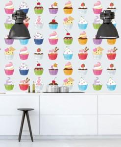 fototapety z muffinkami