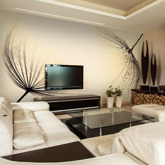 Fototapeta Z Dmuchawcami W Sepii Idealna Na ścianę Do Sypialni