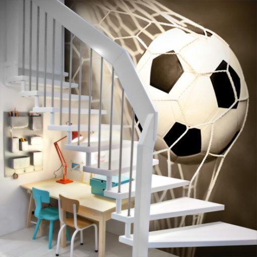 dekoracje z piłką nożną