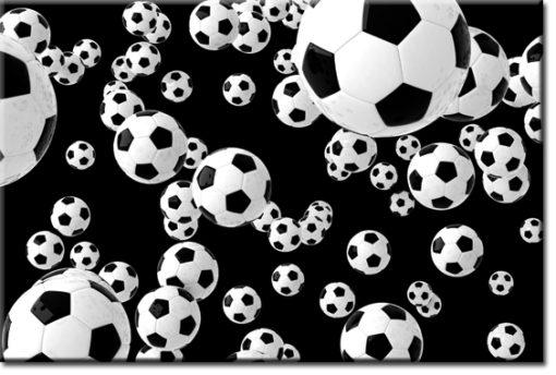 tapeta z futbolem