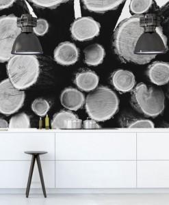 fototapety z drewnem