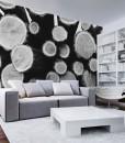 tapety z klockami drewna