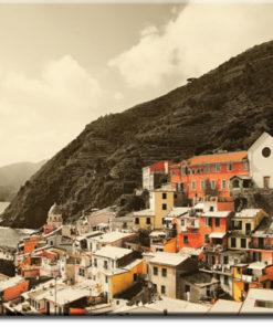 fototapet z panorama miasta