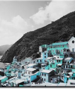 tapety z panoramą miasteczka