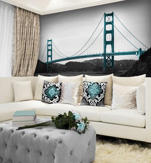 dekoracje z mostem