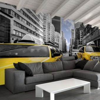 fototapeta taxi nowy jork