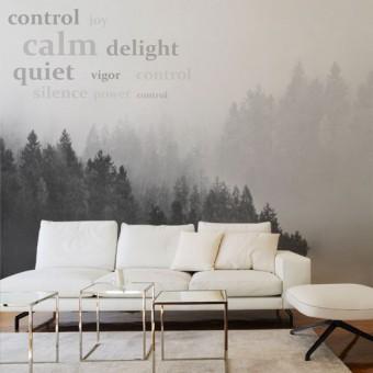 Fototapeta na ścianę las