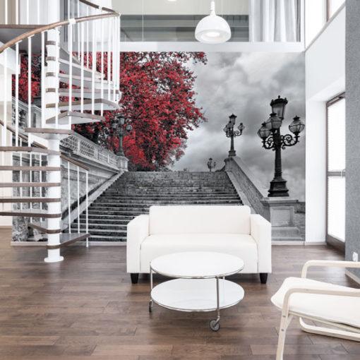 ozdoby z schodami