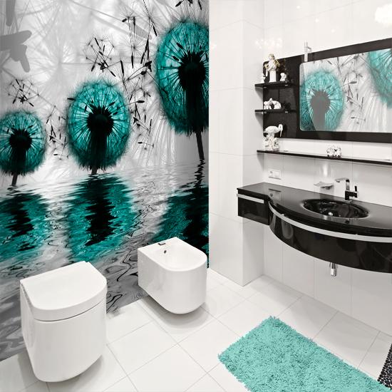 Fototapeta w azience poznaj te ciekawe wzory pasuj ce for Badezimmer wanddekoration