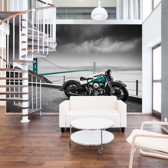 fototapety z motocyklami