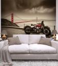 dekoracje z motocyklami