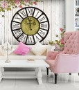 dekoracje z zegarkiem