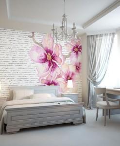 fototapety z kwiatuszkami
