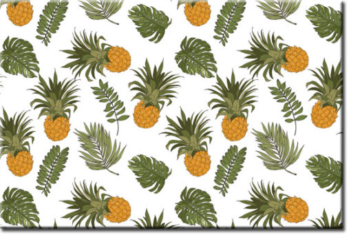 tapety z ananasami