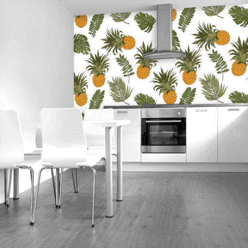 fototapety z ananasami