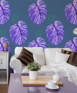 motywy roslinne na ściany