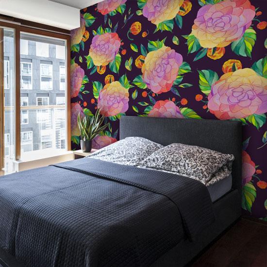 Modne Tapety Do Sypialni Odmienią Całkowicie Twoje ściany