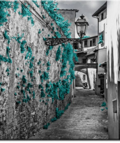 tapety z wąskimi uliczkami