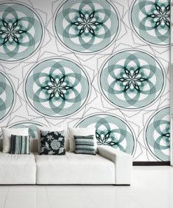 dekoracje z geometrią