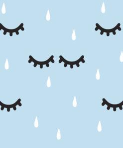 tapeta z kroplami deszczu