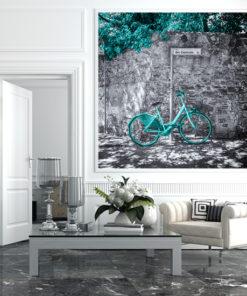 fototapety z rowerami