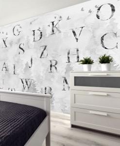 tapeta z typografią