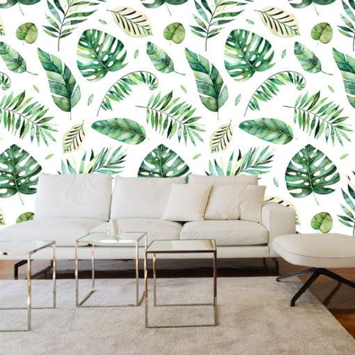 tapeta z roślinami